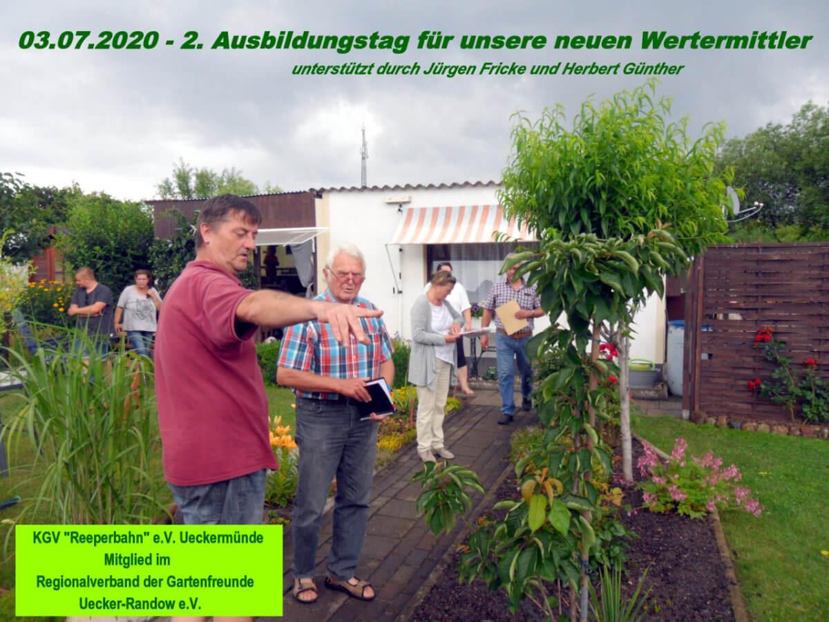 Schulung Wertermittler 03.07.20